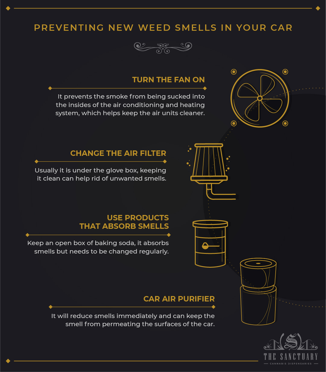 How to Get Weed Smell Out of Your Car?