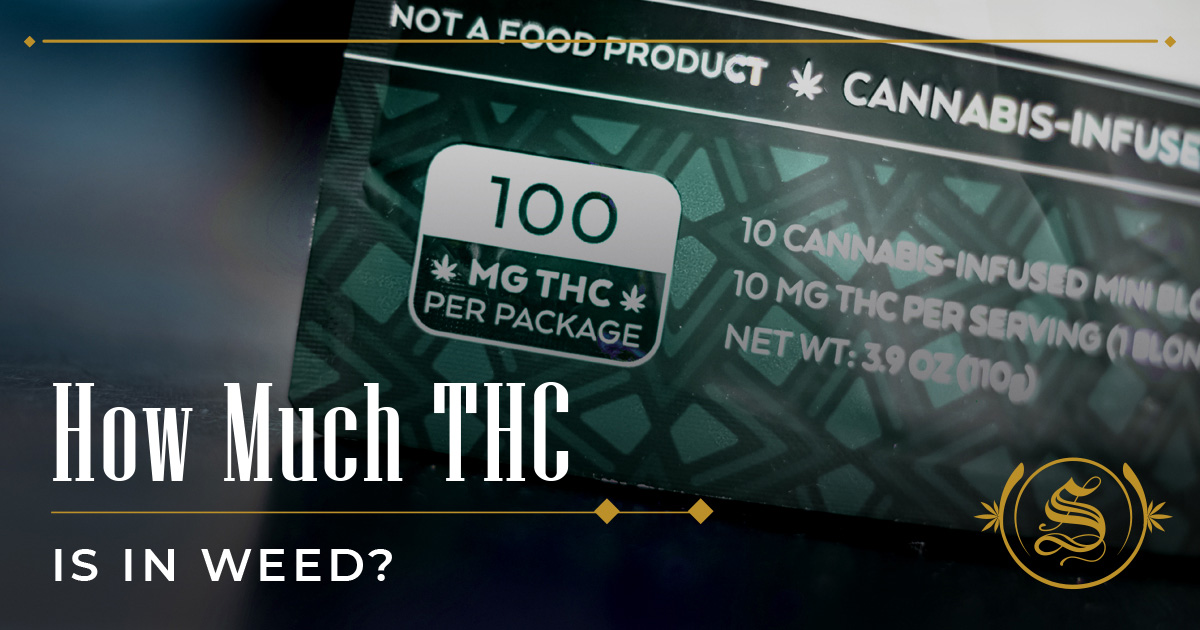 How Much THC Is In Weed?