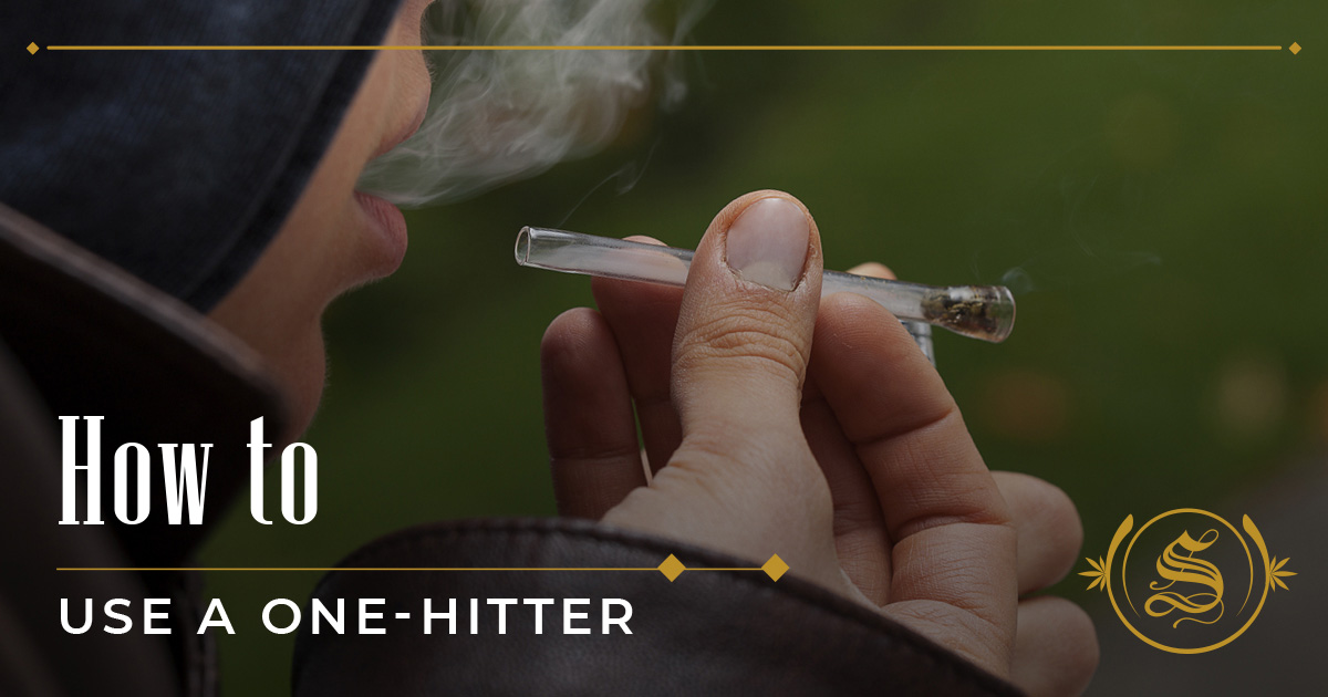 How to Use a One-Hitter