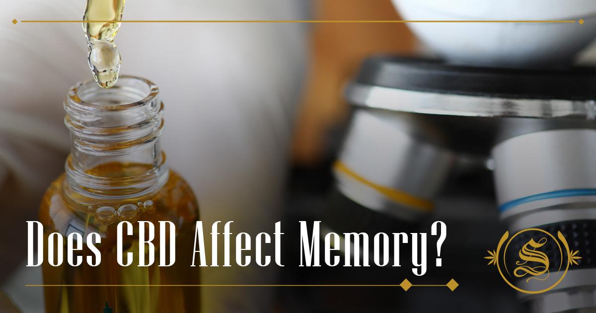 Does CBD Affect Memory